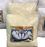 Одеяло двухспальное лебяжий пух 180*210 хлопок