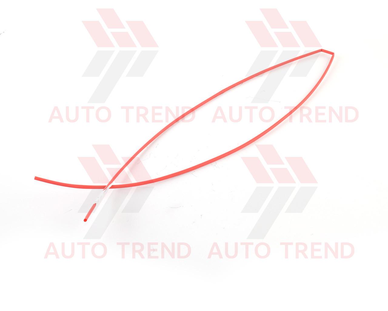 Трубка термоусаживаемая 3мм красная 1м, фото 1