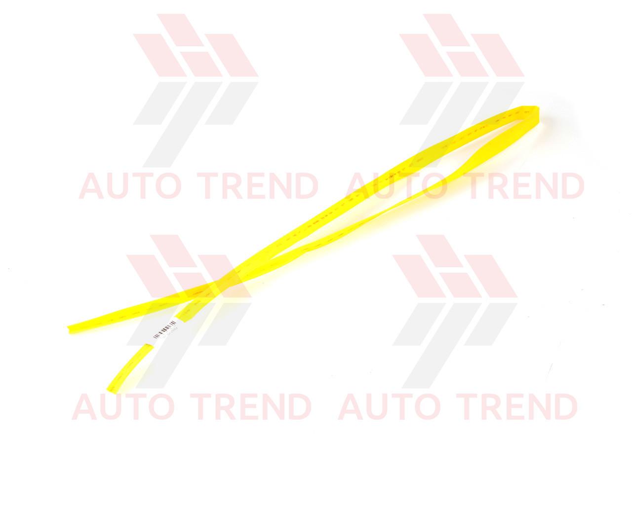 Трубка термоусаживаемая 8мм желтая 1м