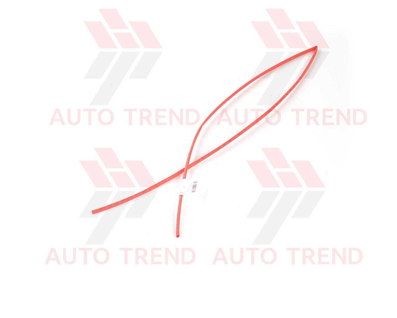 Трубка термоусаживаемая 4мм красная 1м