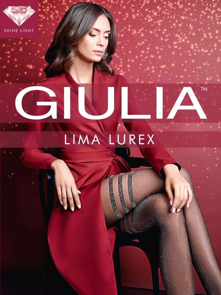 Фантазийные люрексовые колготки Giulia Lima Lurex 20 den