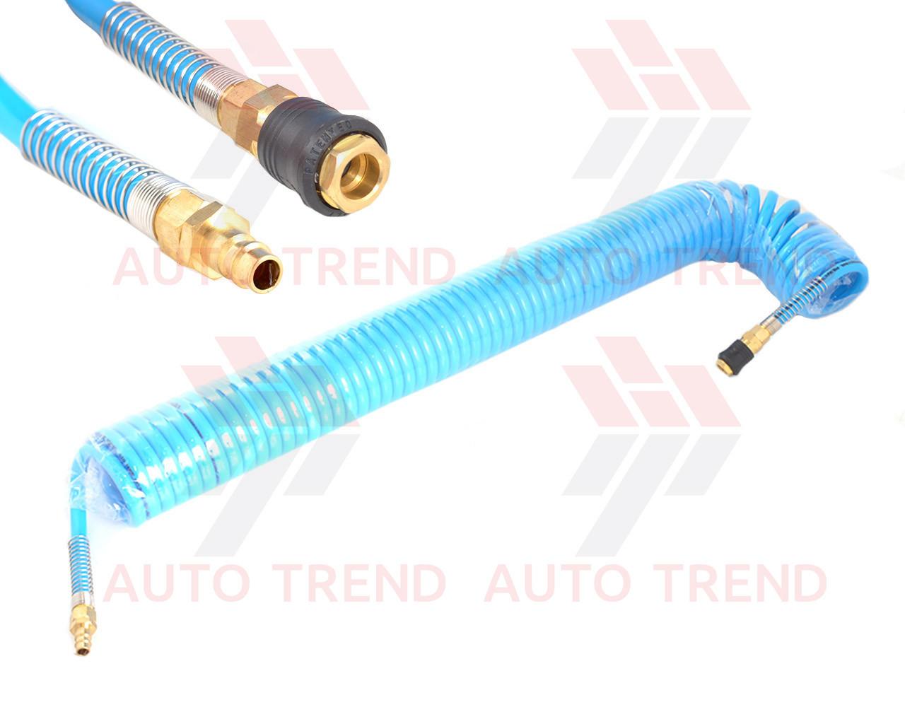 Шланг спиральный полиуретановый d8x12мм 15м Profi