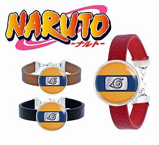Браслет  Наруто знак Наруто / Naruto