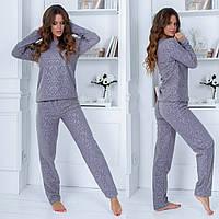 Пижама женская фланель, фото 1