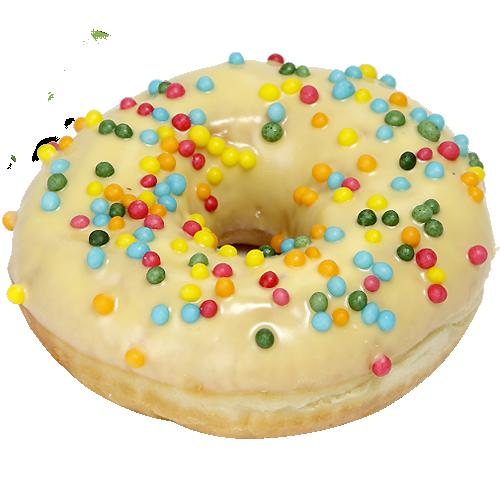 """Пончик Donut """" Банановый кураж"""""""