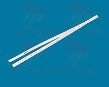 Трубка термоусаживаемая 8мм белая 1м