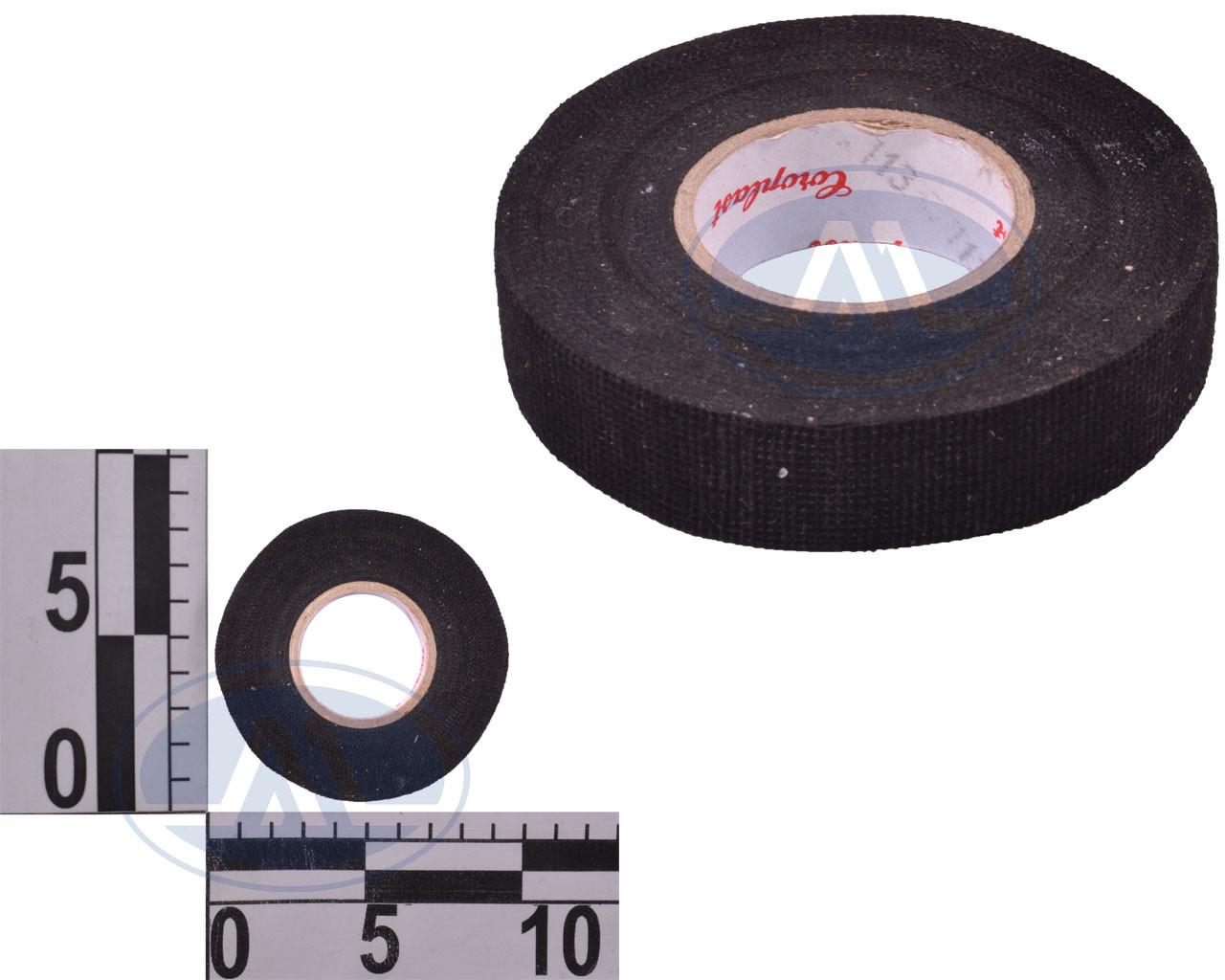 """Изолента тканевая """"Coroplast"""", черная 25м (ворса)"""