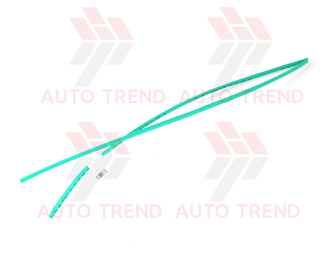 Трубка термоусаживаемая 4мм зелёная 1м, фото 1