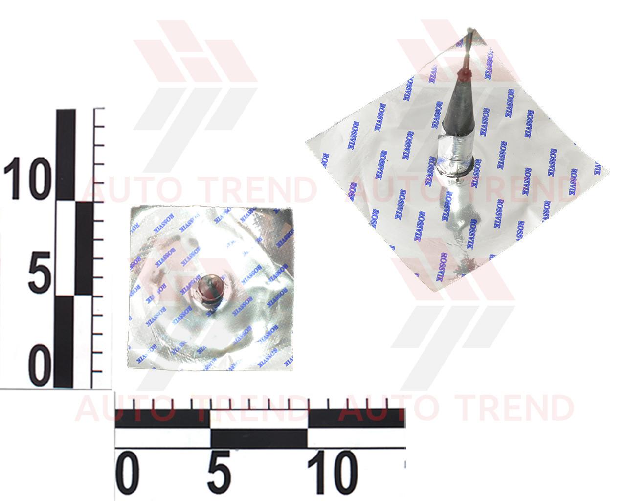 Грибок для бескамерных шин проволочная ножка до 4 атм d12х68мм (розн)
