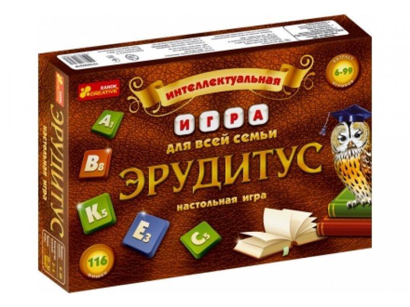 "Настільна гра""Ерудитус"", в кор.24*34*5 см., ТМ Ранок Украина"