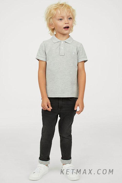 Джинсы H&M на трикотажной подкладке для мальчика