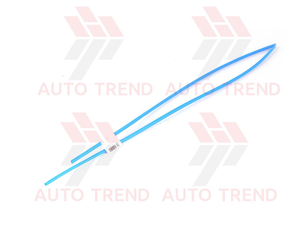 Трубка термоусаживаемая 4мм синяя 1м