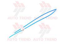 Трубка термоусаживаемая 4мм синяя 1м, фото 1