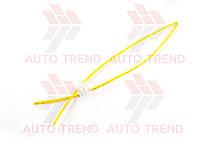 Трубка термоусаживаемая 4мм желтая 1м, фото 1
