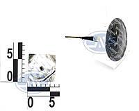 Грибок для бескамерных шин проволочная ножка до 4 атм d7х45мм (розн)