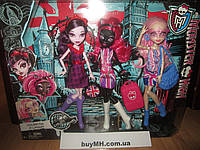 Набор Monster High Ghoulebrities in Londoom Монстрознаменитости в Лондуме