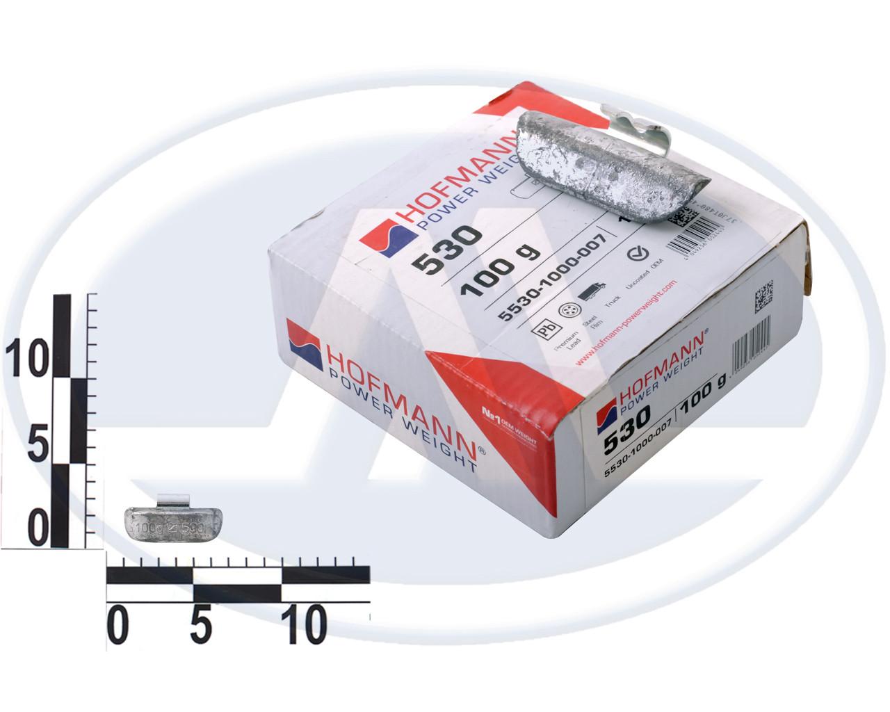 Груз набивной для стальных дисков г/а, свинец 100г, тип 530, Германия