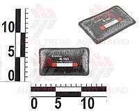 Пластырь радиальный 57х102мм, 1 слой корда, термо