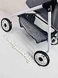 Коляска для куклы DeCuevas Скай 86024 высота 56 см, фото 5