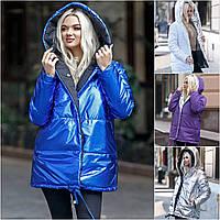 Женская зимняя двухсторонняя куртка 1608-1