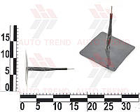 Грибок для камерных шин проволочная ножка с кордом до 6 атм d12х90мм (розн)