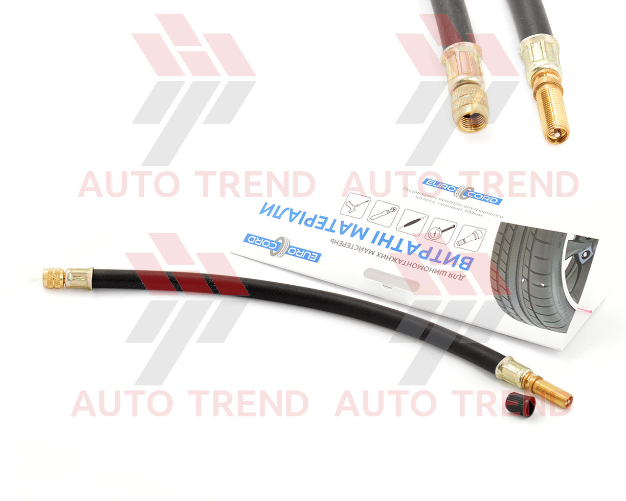 Удлинитель вентиля внутреннего колеса резиновый 300мм