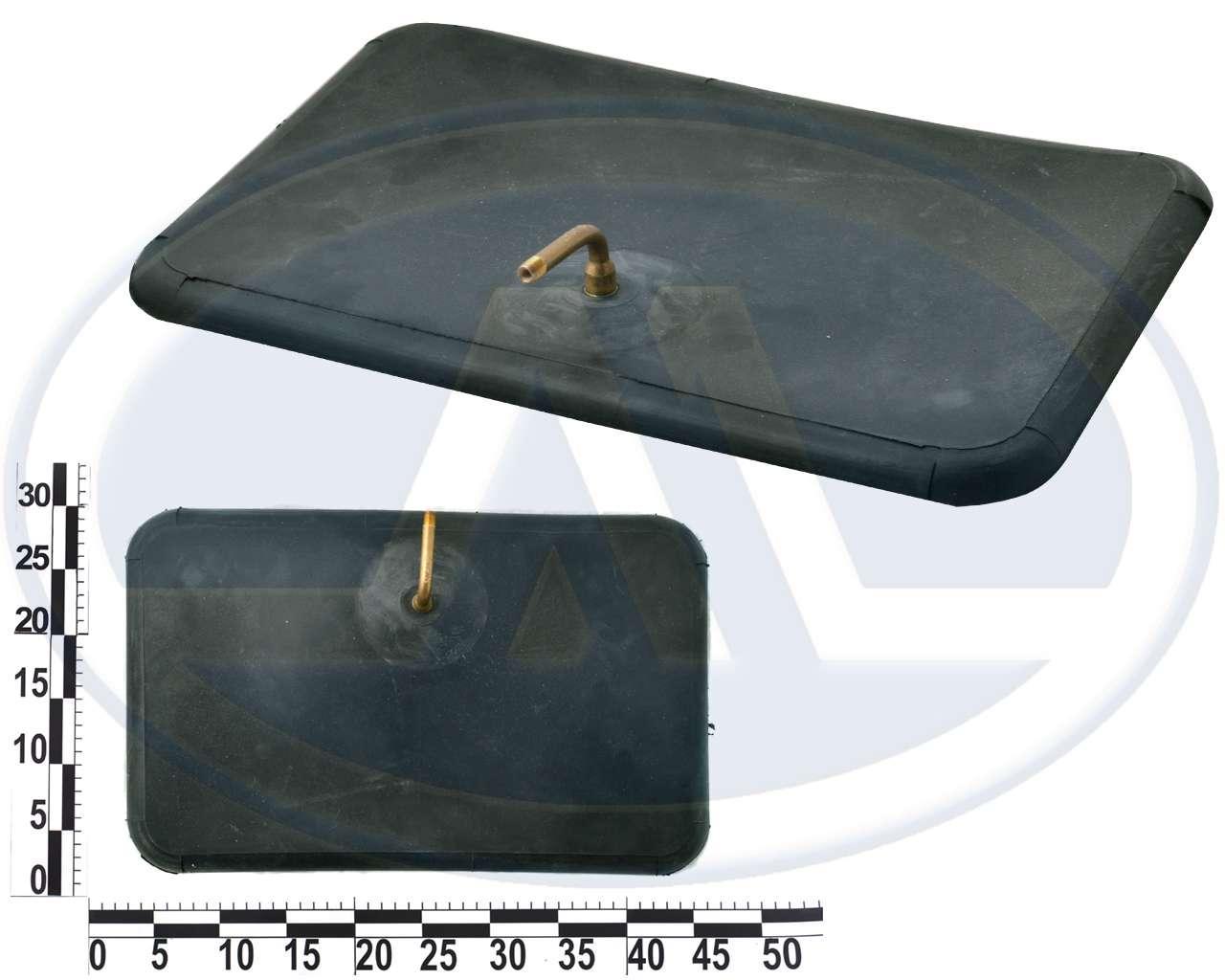 Пневмоподушка плоская 400х250мм без чехла