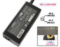 Оригинальный блок питания для ноутбука ACER 19V, 3.42A, 65W, 5.5*1.7мм, black (без кабеля !) (PA-1650-02)