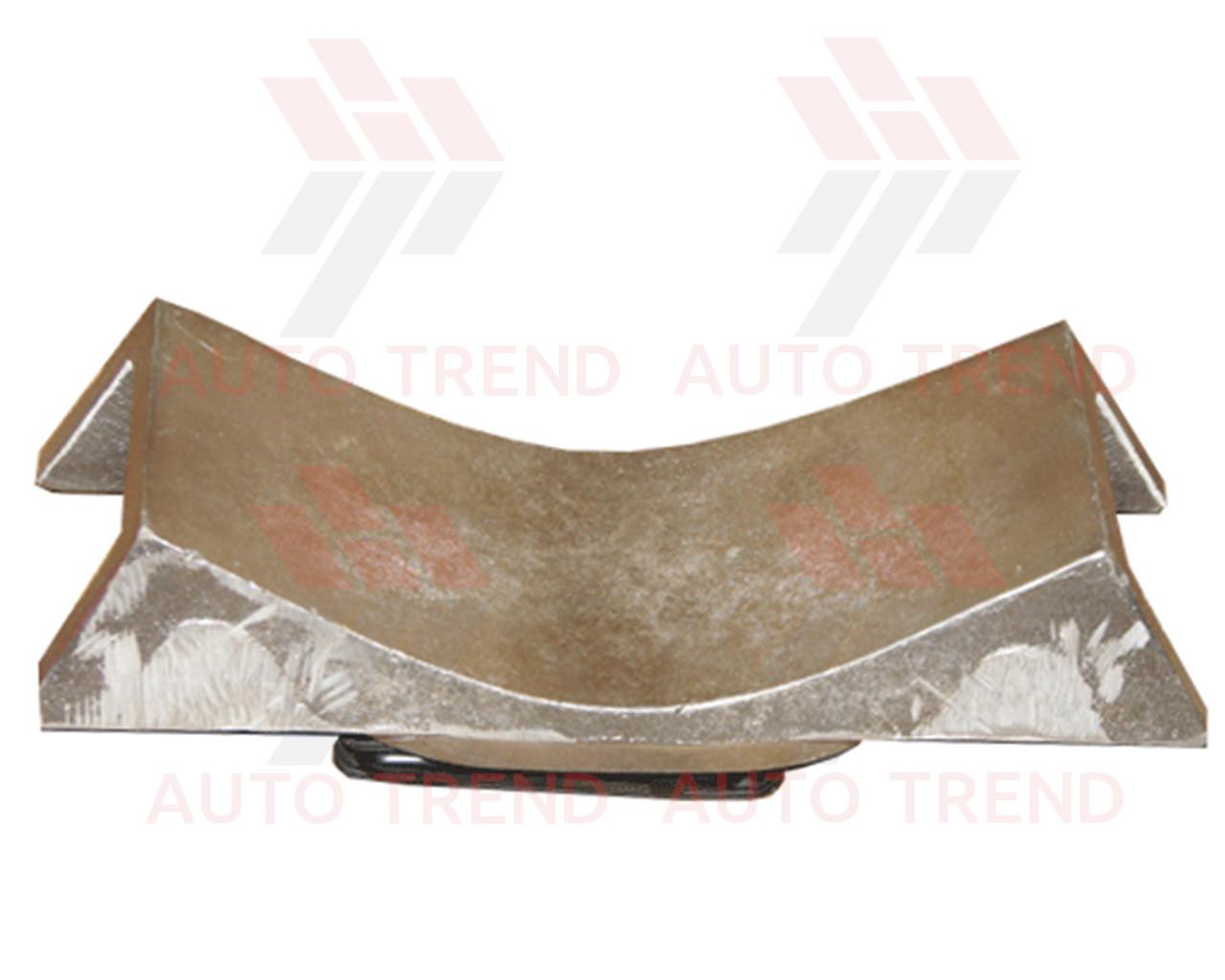Плита профильная для ремонта крупногабаритных шин, ложемент 310х115мм, наружная, плечо
