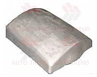 Плита профильная для ремонта шин г/а, ложемент 160х140мм, внутренняя, плечо
