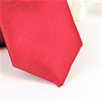Галстук детский, атласный №3 (красный)