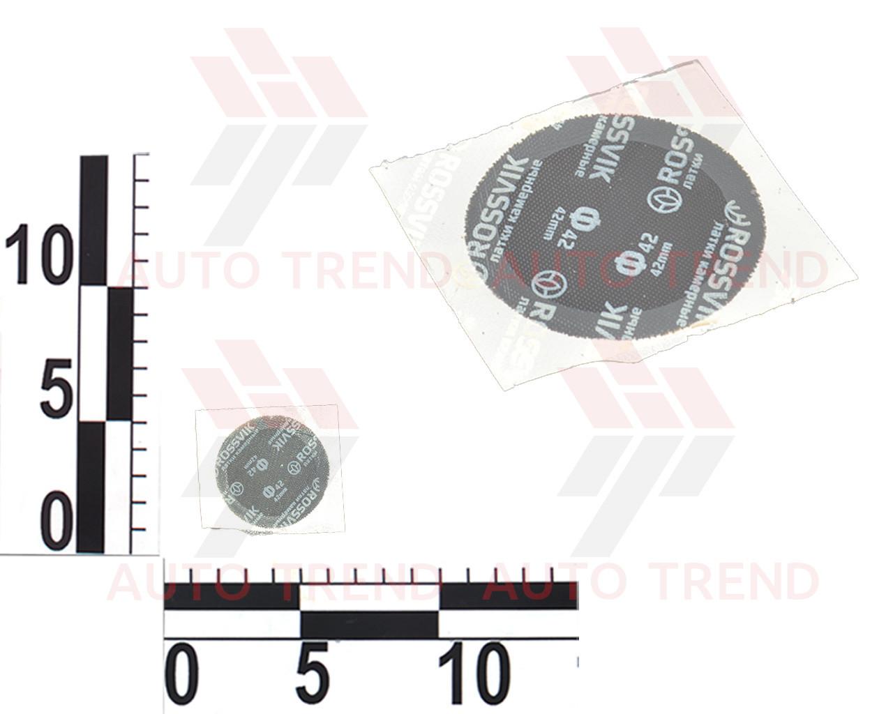 Латка камерная круглая d42мм, пакет