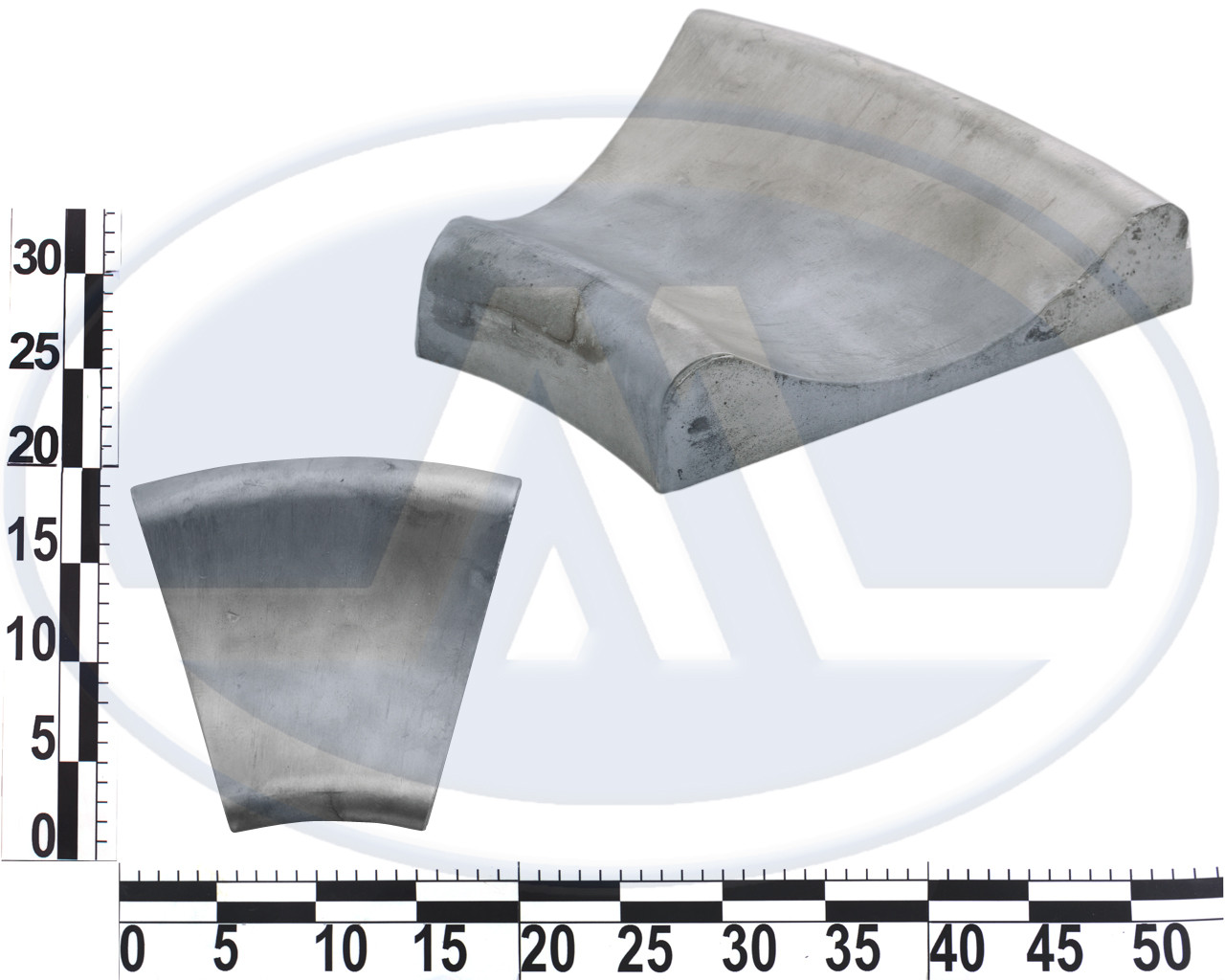 Плита профильная для ремонта шин л/а, лекало ТП-1М