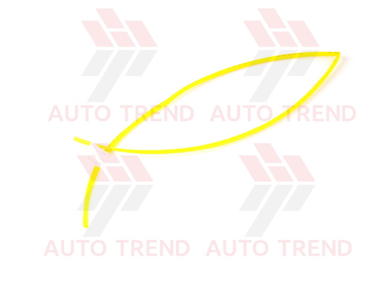 Трубка термоусаживаемая 5мм желтая 1м