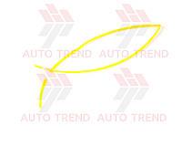 Трубка термоусаживаемая 5мм желтая 1м, фото 1