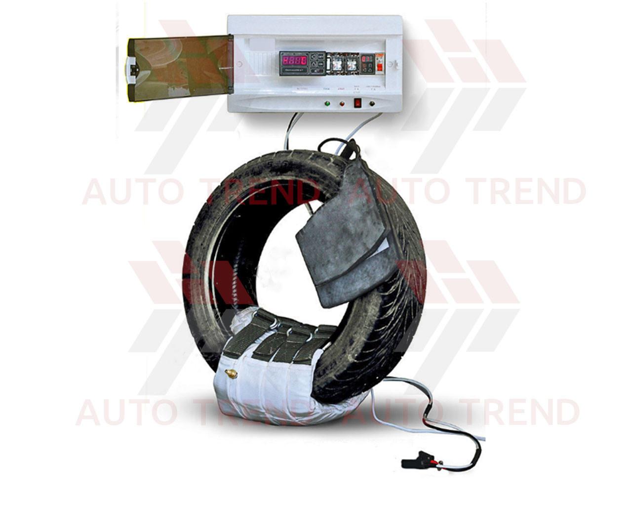 Вулканизатор с гибкими нагревательными элементами