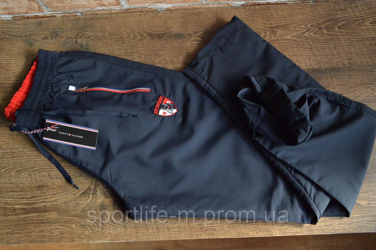 8012-Мужские спортивные штаны плащёвка Tommy Hilfiger
