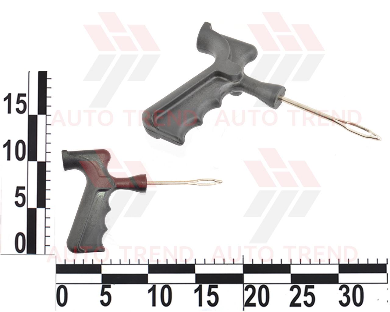Игла для затяжки шнуров с пластиковой ручкой