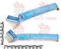 Шланг спиральный полиуретановый d8x12мм 10м Profi