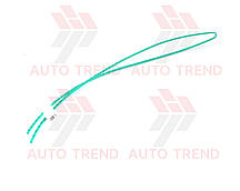 Трубка термоусаживаемая 3мм зелена 1м