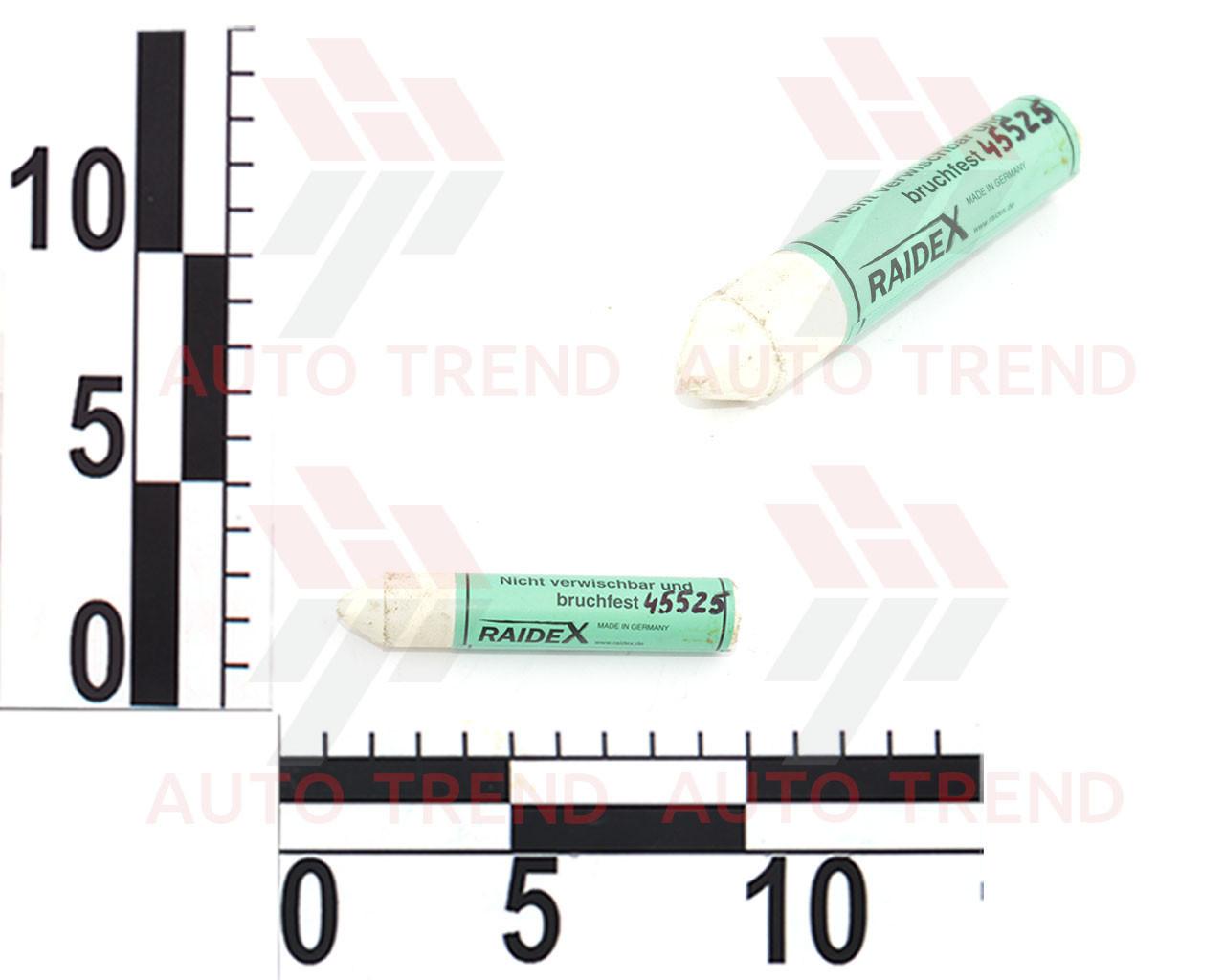 Мел водостойкий маркировочный Sisa d17мм, белый