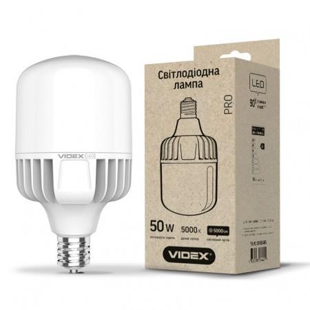 Лампа светодиодная VIDEX A118 50W E40 5000K 220V (24310)