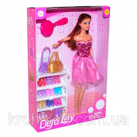 Ігровий набір лялька з аксесуарами і взуттям Defa Lucy з набором взуття лялька Defa Lucy 8316, фото 2