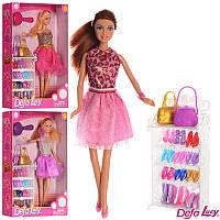 Игровой набор кукла с аксессуарами и обувью Defa Lucy с набором обуви кукла Defa Lucy 8316
