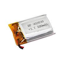 Литий-полимерный аккумулятор Bossman 902030 3,7V 500 mAh с контроллером
