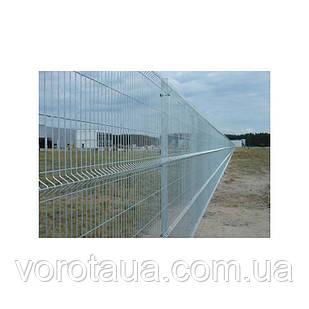 Заборные секции 2х2,5м СТАНДАРТ проволока 4+4мм