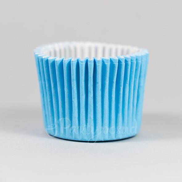Капсула для маффина голубая