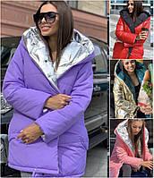 Женская двухсторонняя куртка 1608
