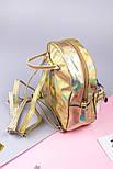 Рюкзак детский Хвост русалки (золотистый), фото 2