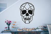 """Картина из дерева """"Skull"""""""